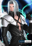 FFVII - Sephiroth by zenkanjia