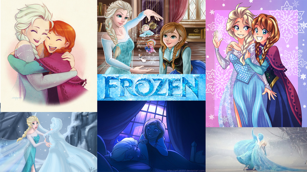 Frozen Wallpaper Collage By Superkaito