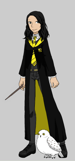 Me as a Hogwarts student by GirlKaito