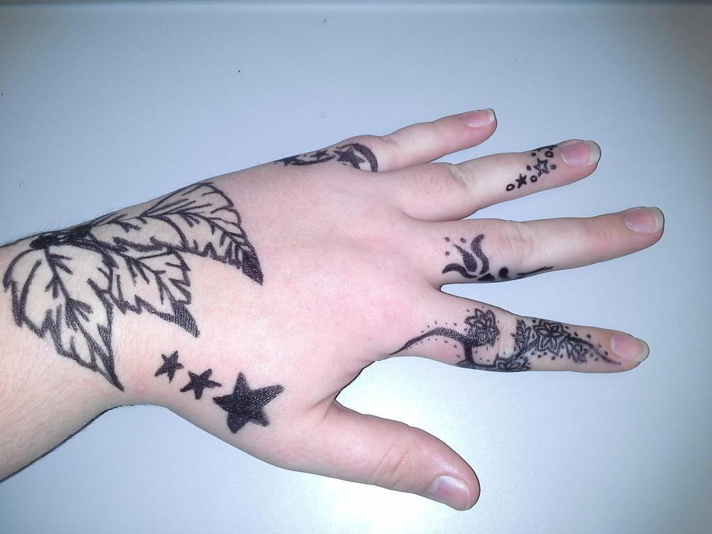 Sharpie tattoos by saralina529 on deviantart for Sharpie tattoo designs