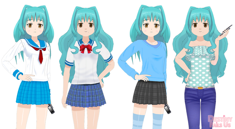 [DFU VN] Sprite Comparison - Lily Day by DestinyFailsUs