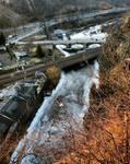 Frozen River by wiebkerost