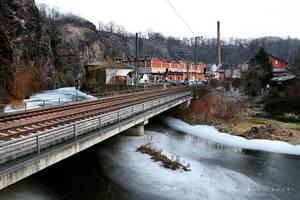 Frozen River II by wiebkerost