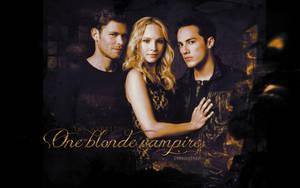 One blonde vampire