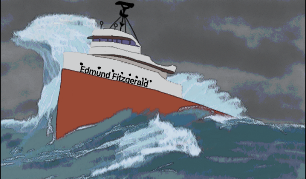 The Wreck Of The Edmund Fitzgerald 40th Anniversary Edition Book