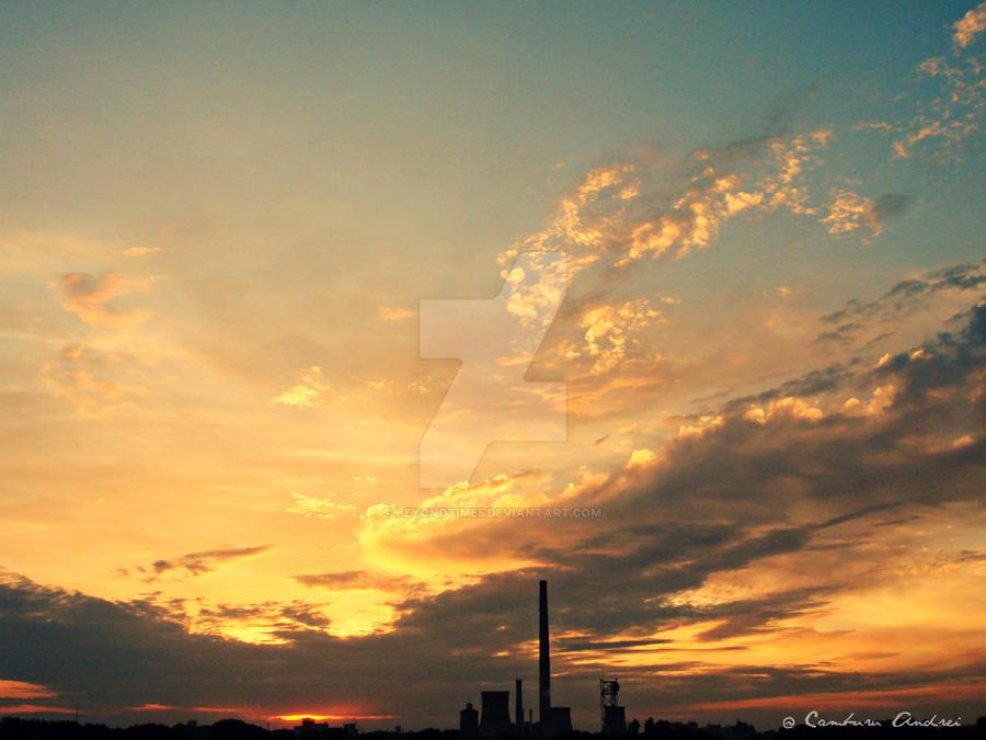 Burning Sky by beyondtime5
