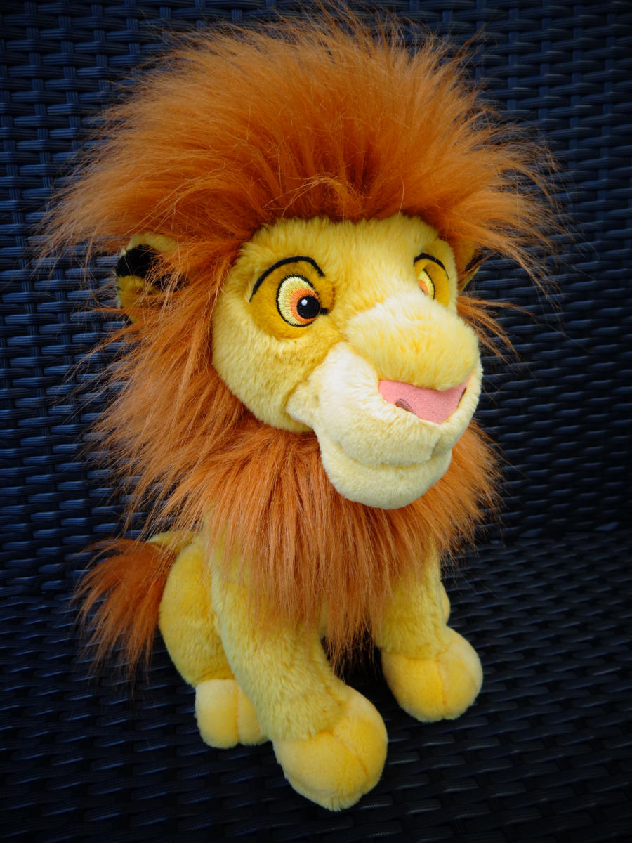Rare Dutch Mufasa plush by Gallade007