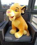 Giant Paris Simba cub plush