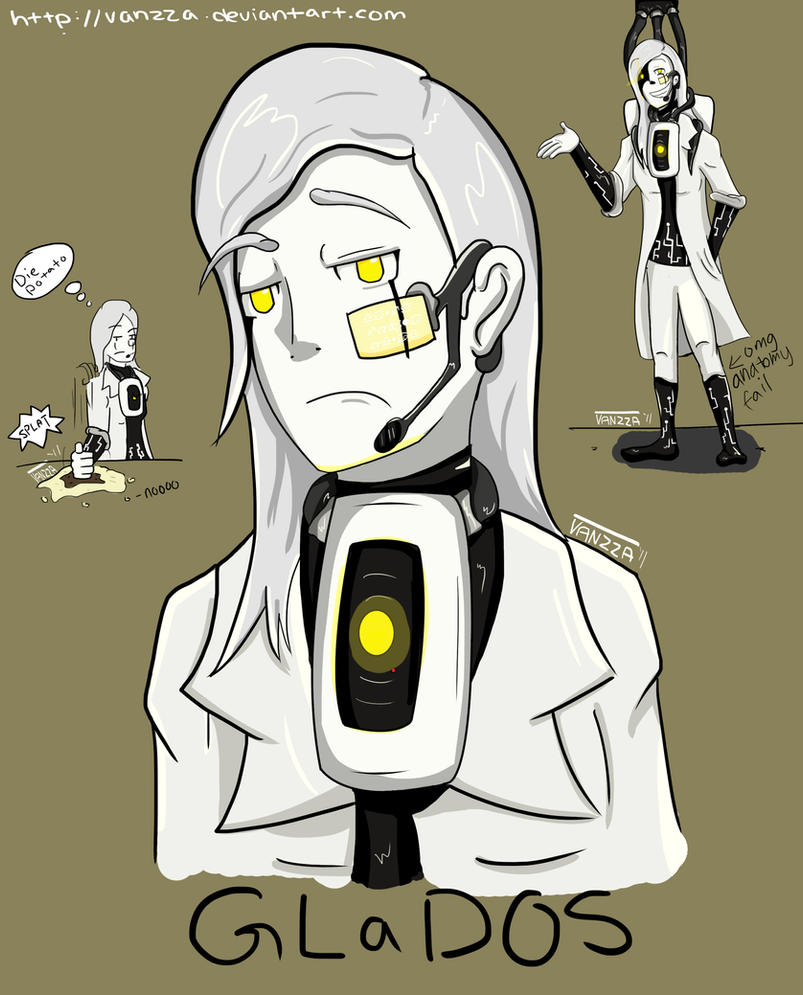 GLaDOS Design by Vanzza
