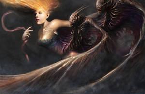 Dark Harpy by Darkcloud013