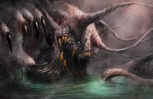 Swamp beast by Darkcloud013