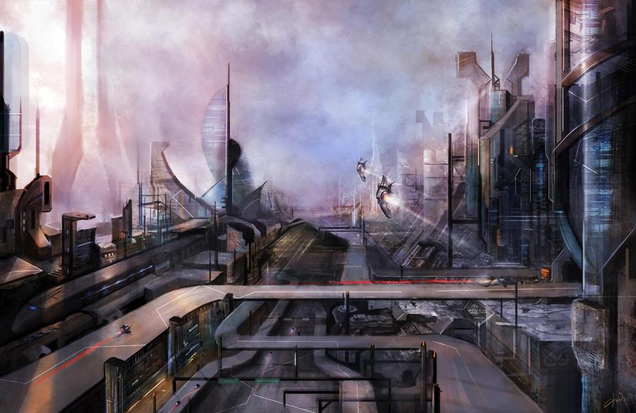 Environment 2036 by Darkcloud013