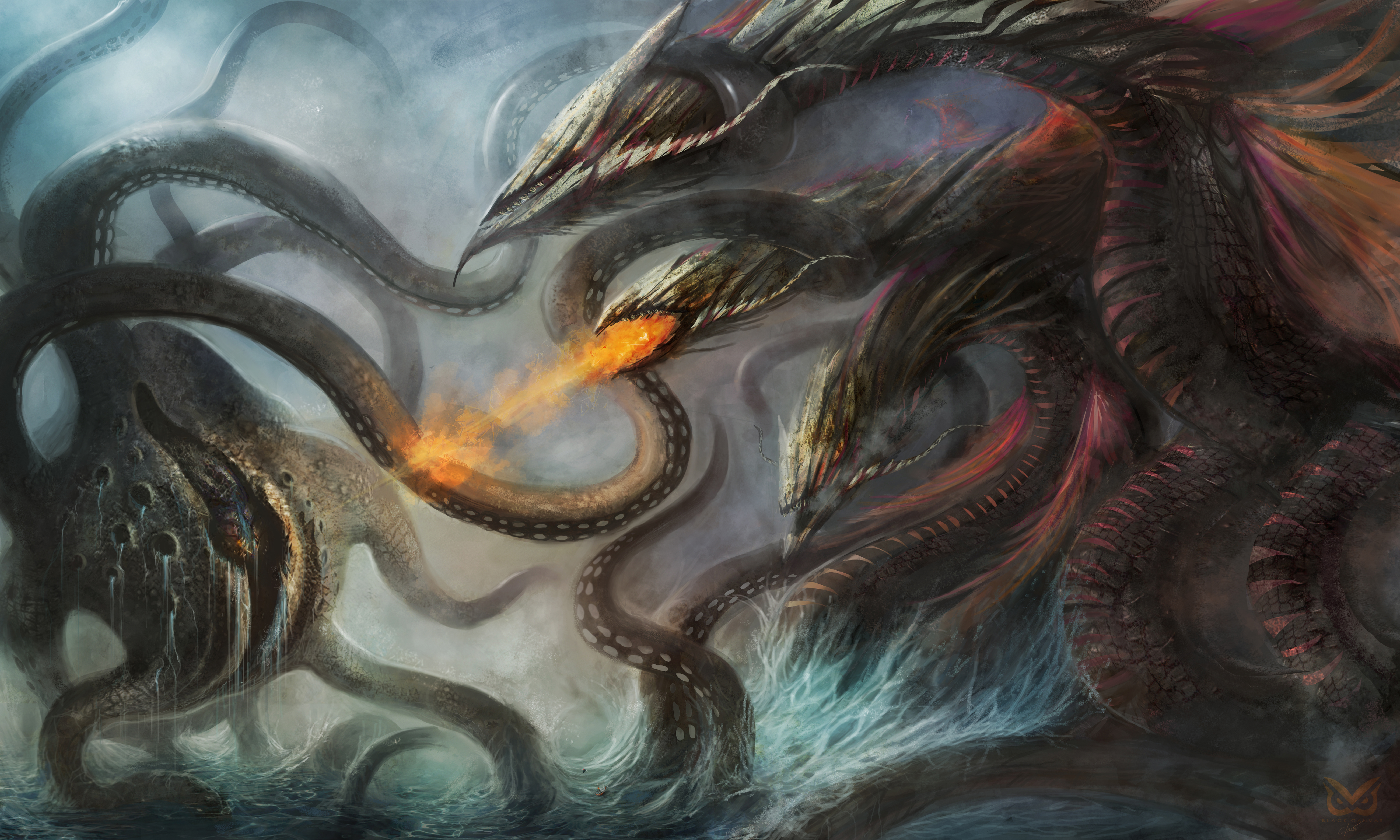 Wrath of the Fisherman by Darkcloud013