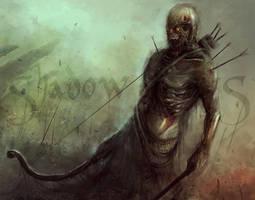Zombie Archer by Darkcloud013
