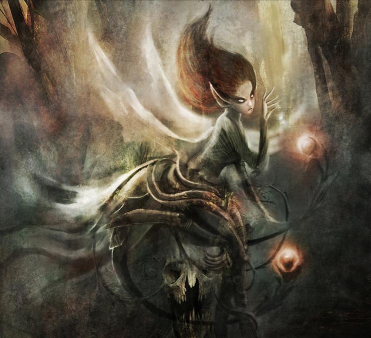 Fantasy Art Dark Fairies