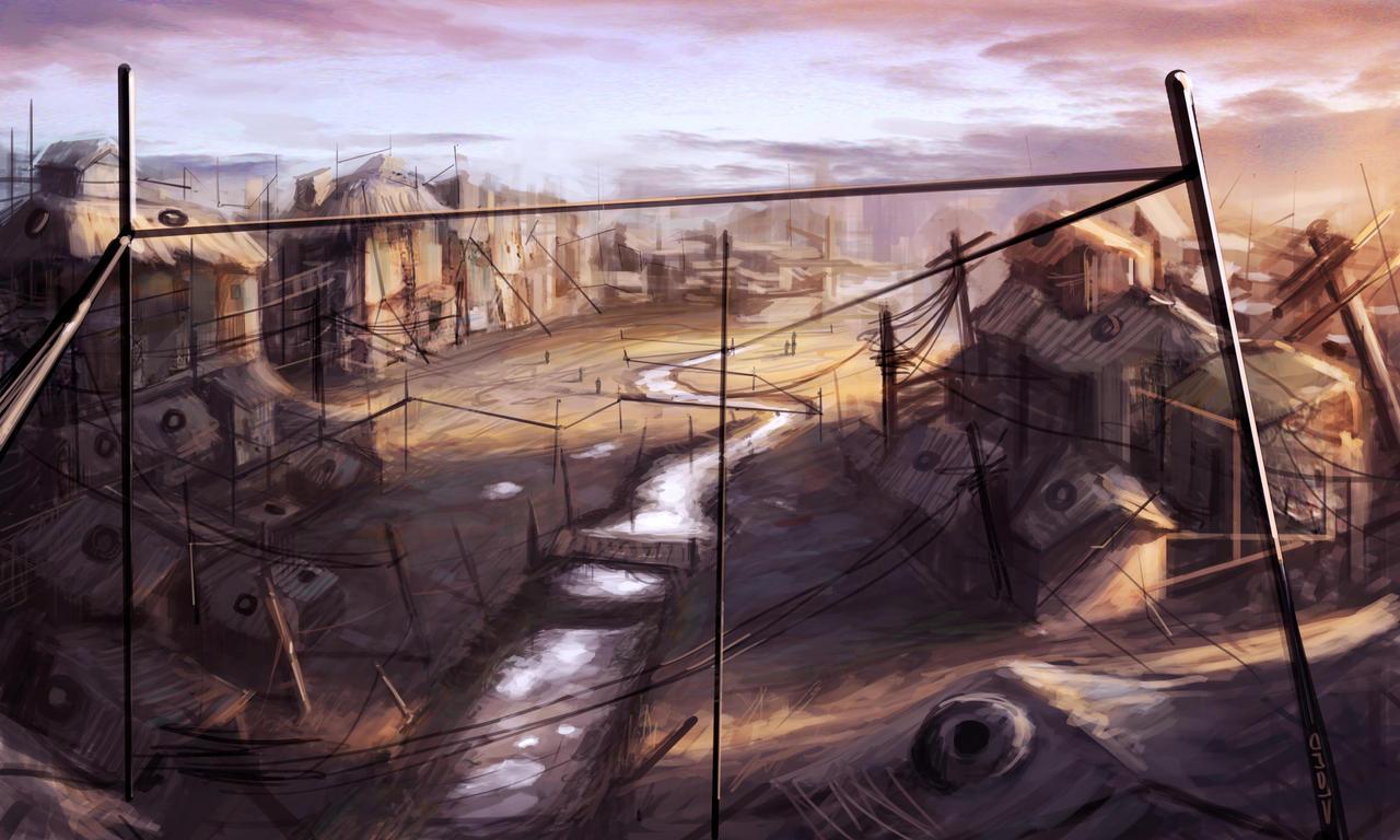 Slums by Darkcloud013