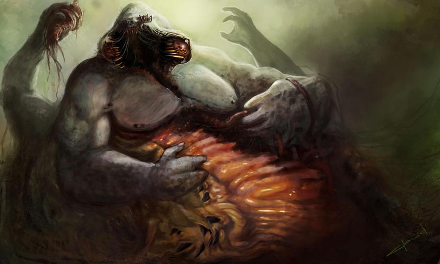 Gluttony by Darkcloud013