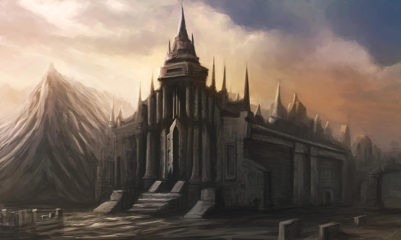 Church of Ardird by Darkcloud013