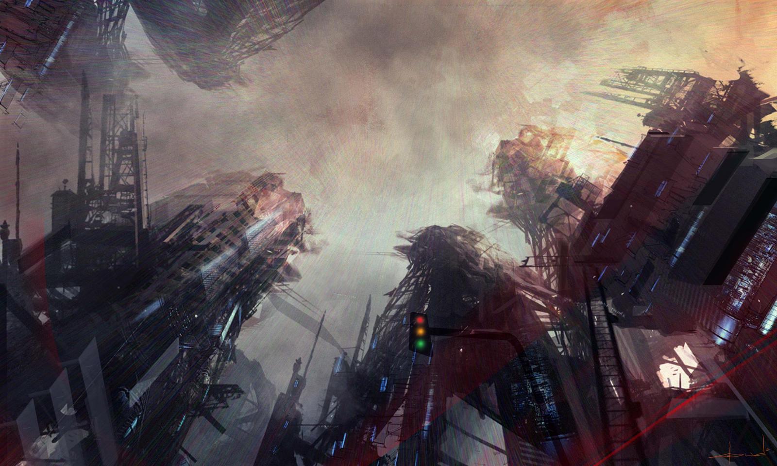 Vertical Street by Darkcloud013