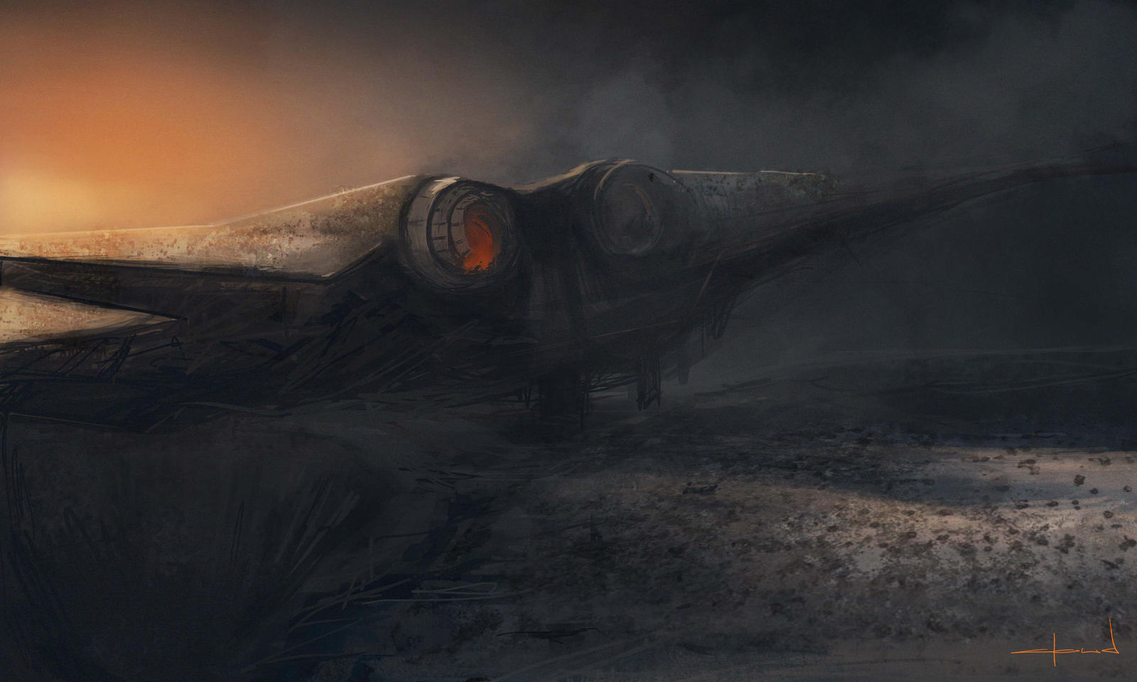Crashed by Darkcloud013