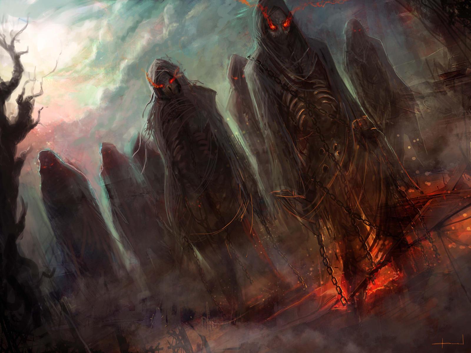 Zombie Warriors by Darkcloud013