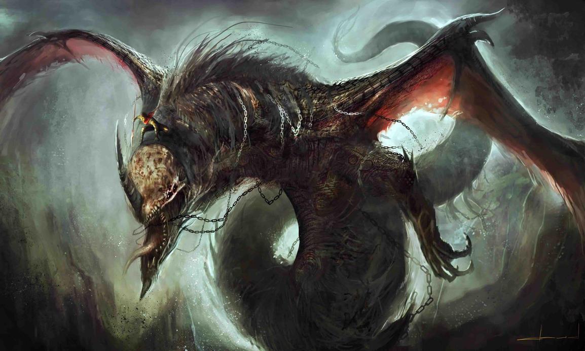 Undead Dragon by Darkcloud013
