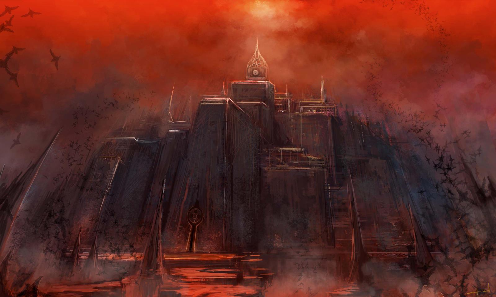 Altar of sacrifice by Darkcloud013
