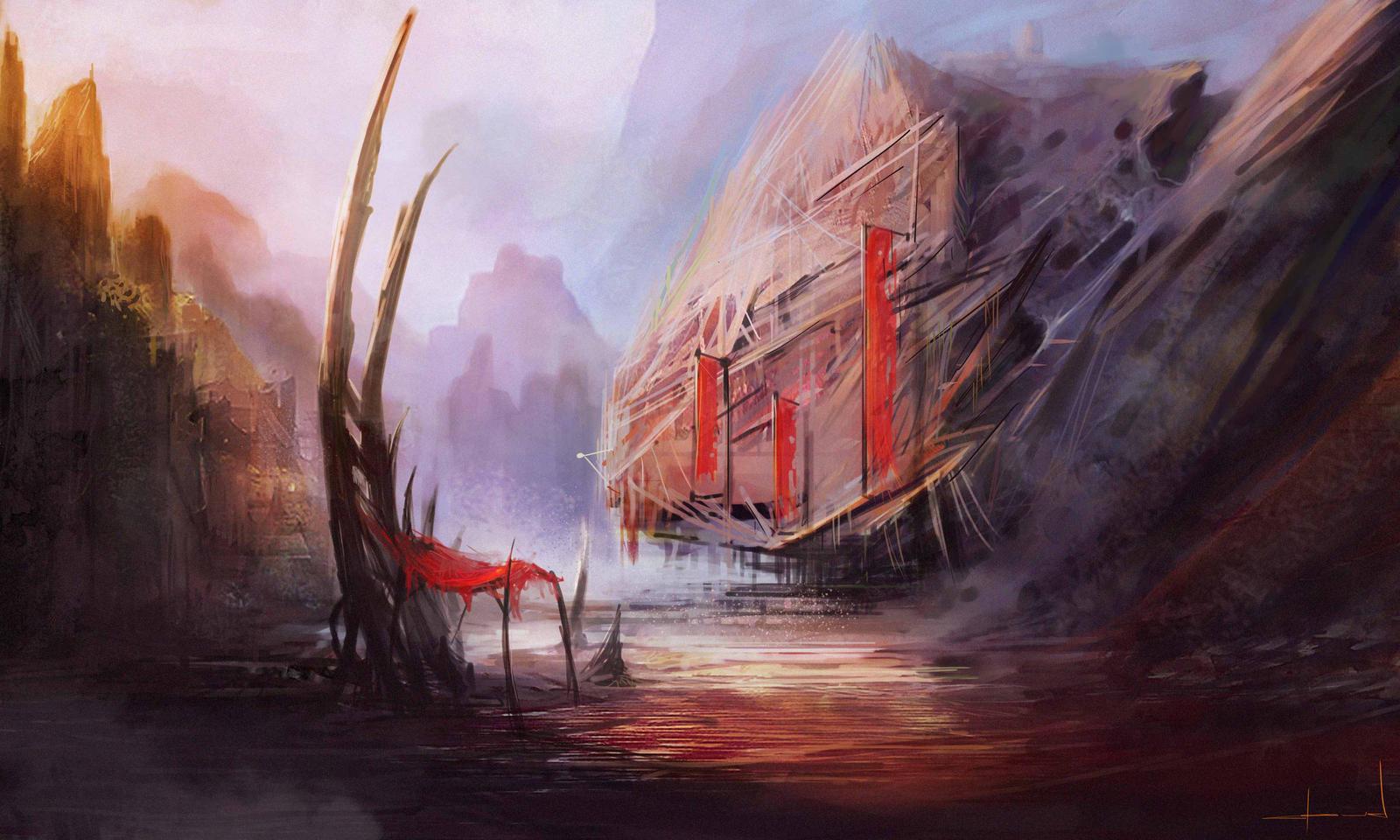 Random Red by Darkcloud013