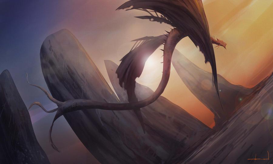 Ginger Dragon by Darkcloud013