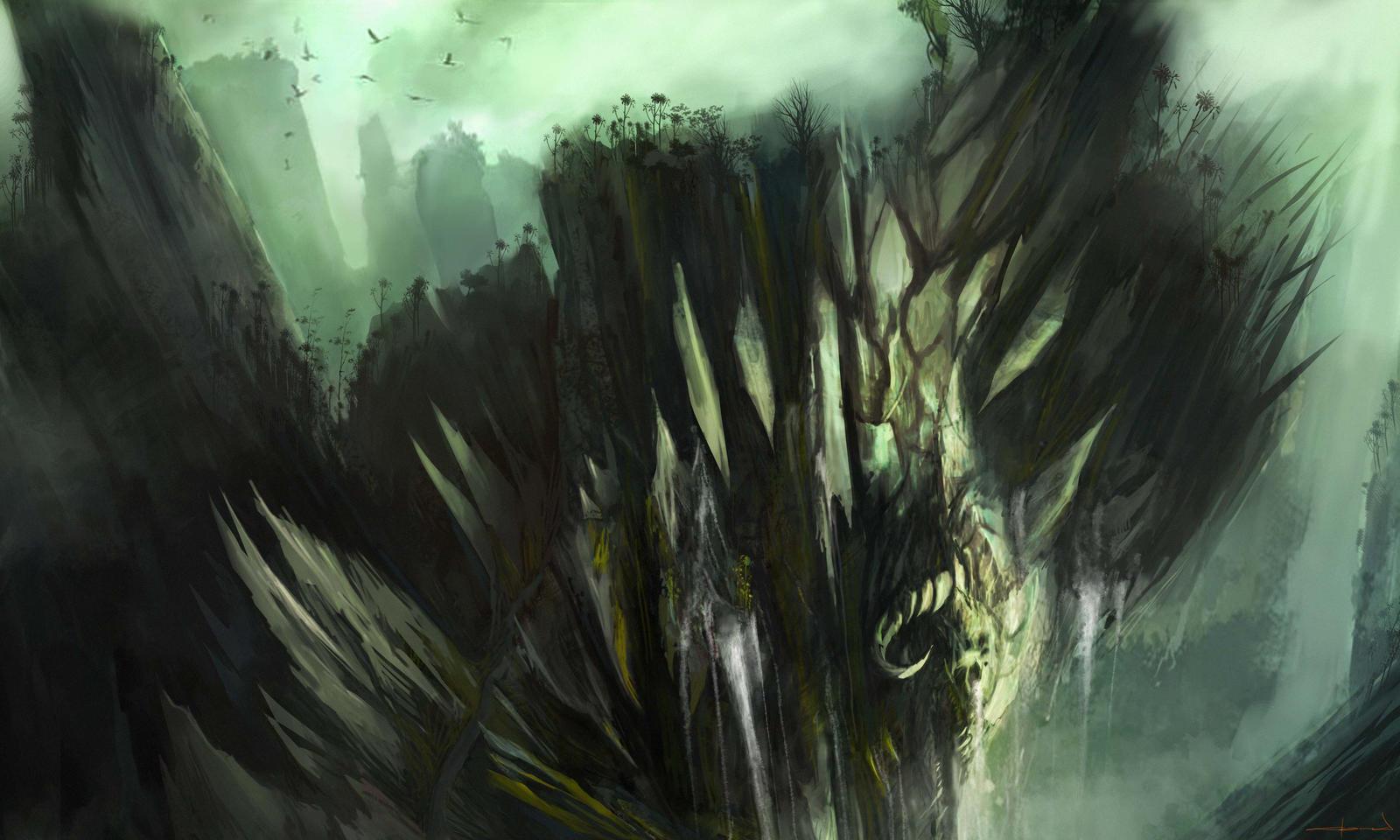 Dungeon Clif by Darkcloud013