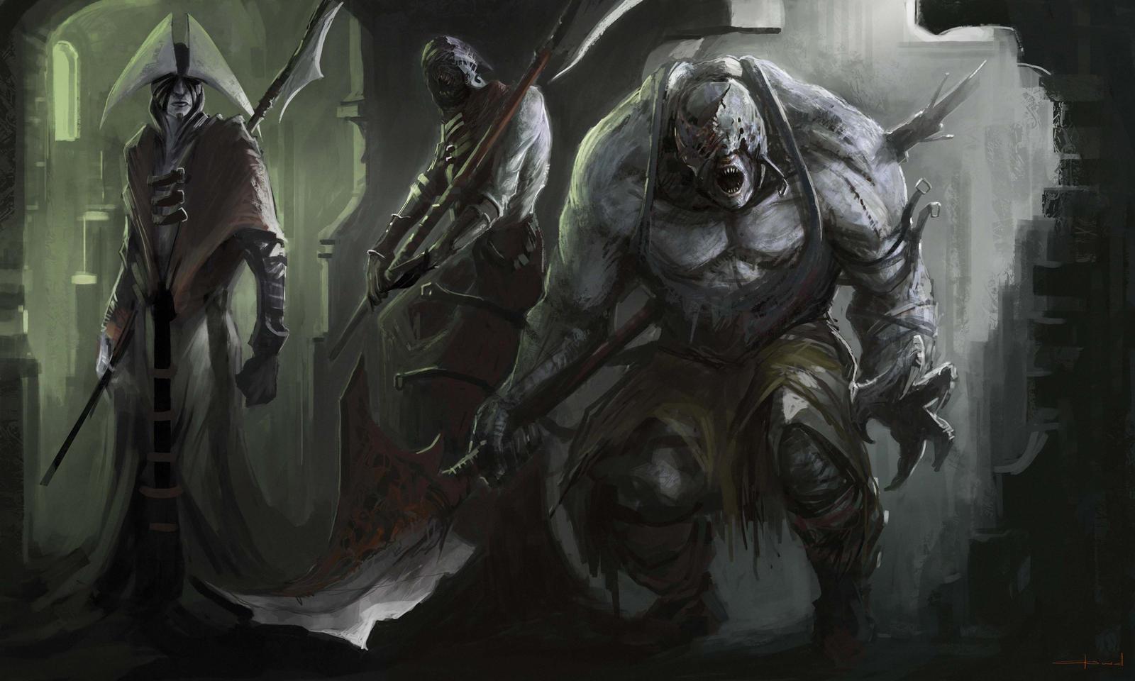 Random Characters by Darkcloud013