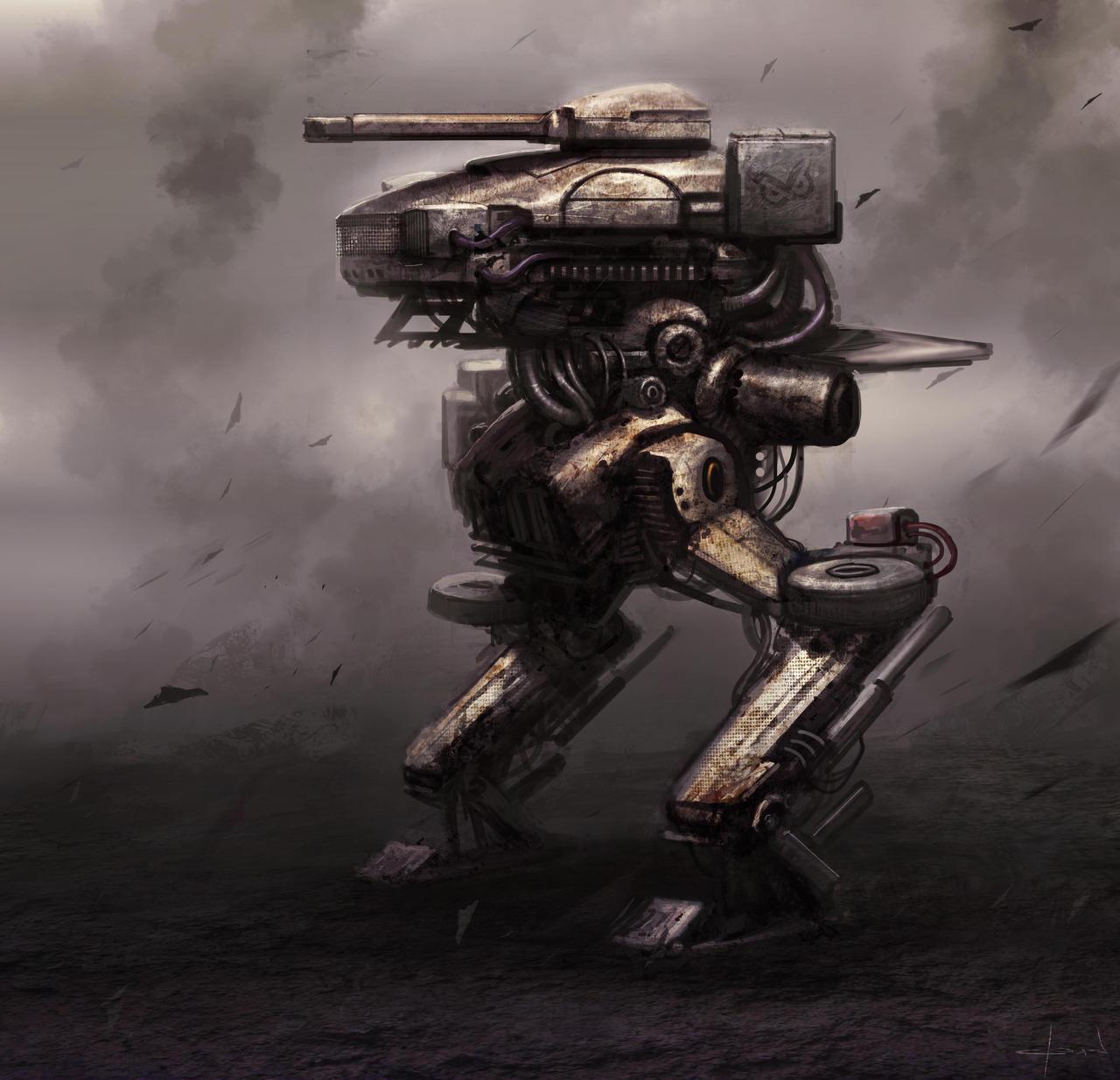 Mech concept by Darkcloud013
