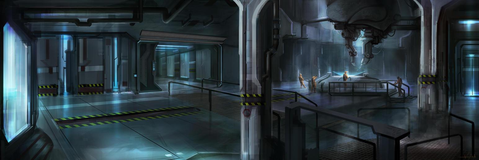 Laboratory Concept 2 by Darkcloud013
