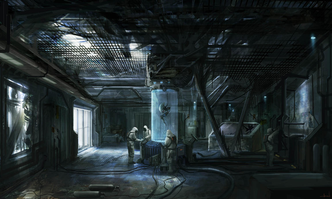 Ruined Cafe by Darkcloud013