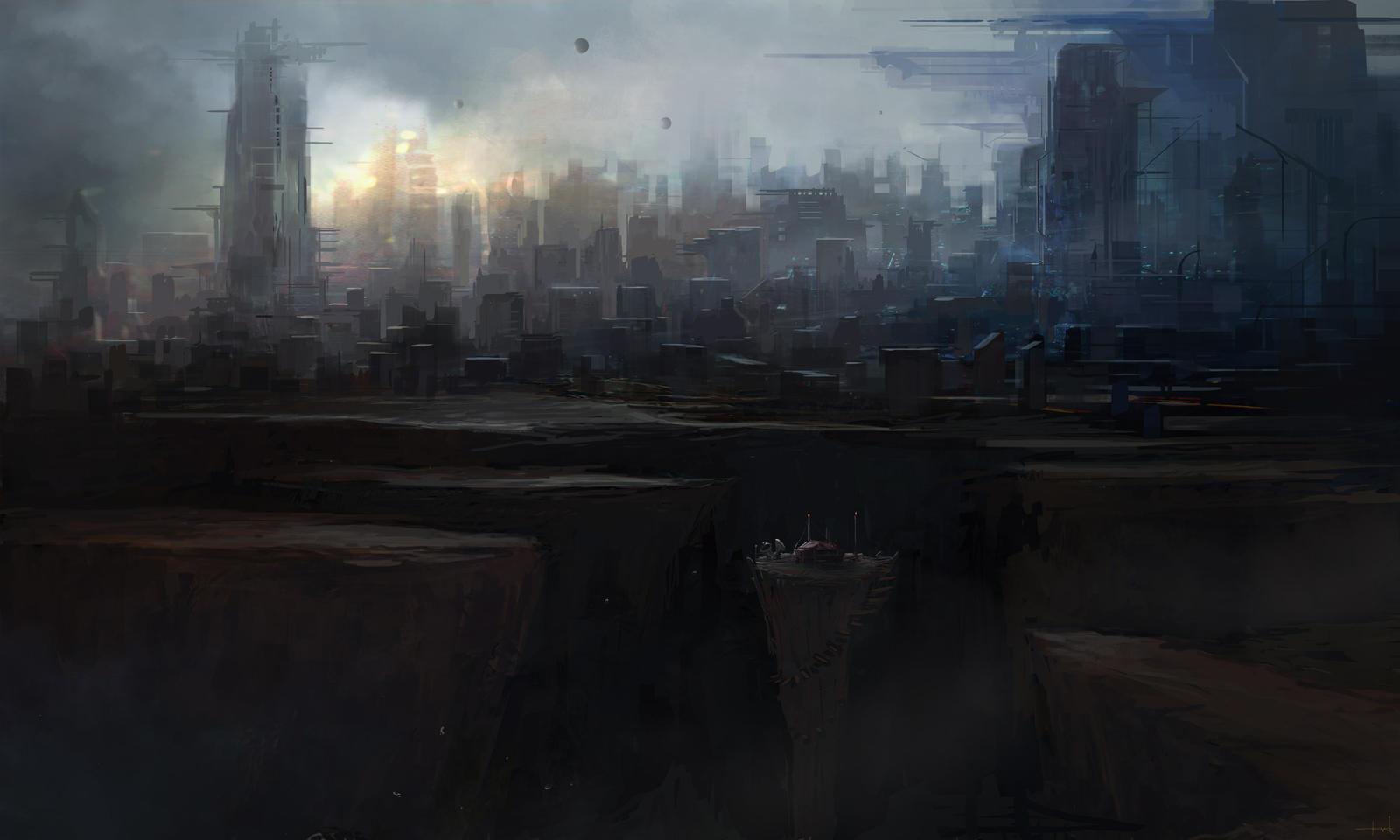 City Post by Darkcloud013