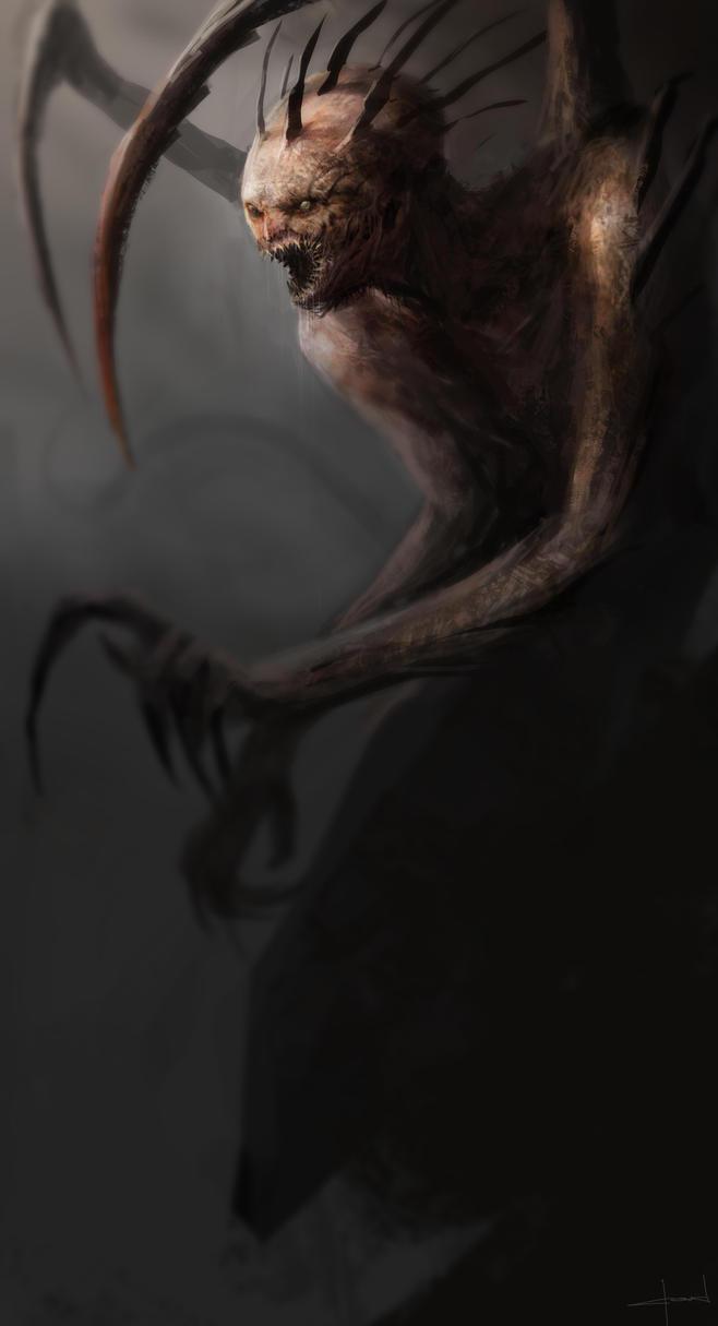 Creature study 4 by Darkcloud013