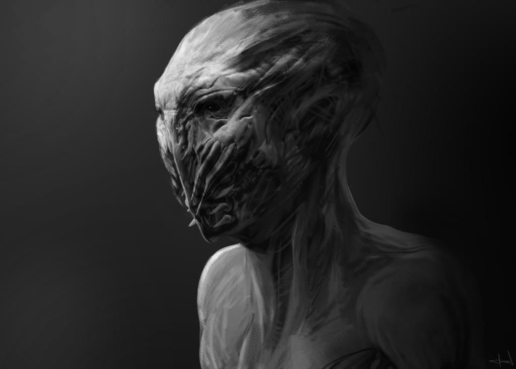 Creature study 5 by Darkcloud013