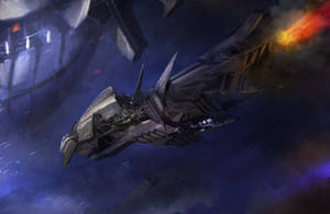 Space Trail by Darkcloud013