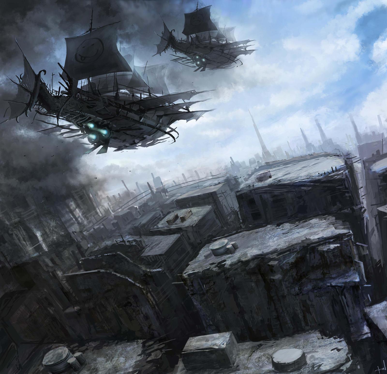 Space Pirates by Darkcloud013