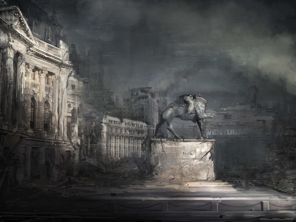 Bucharest CONCEPT 2 post by Darkcloud013