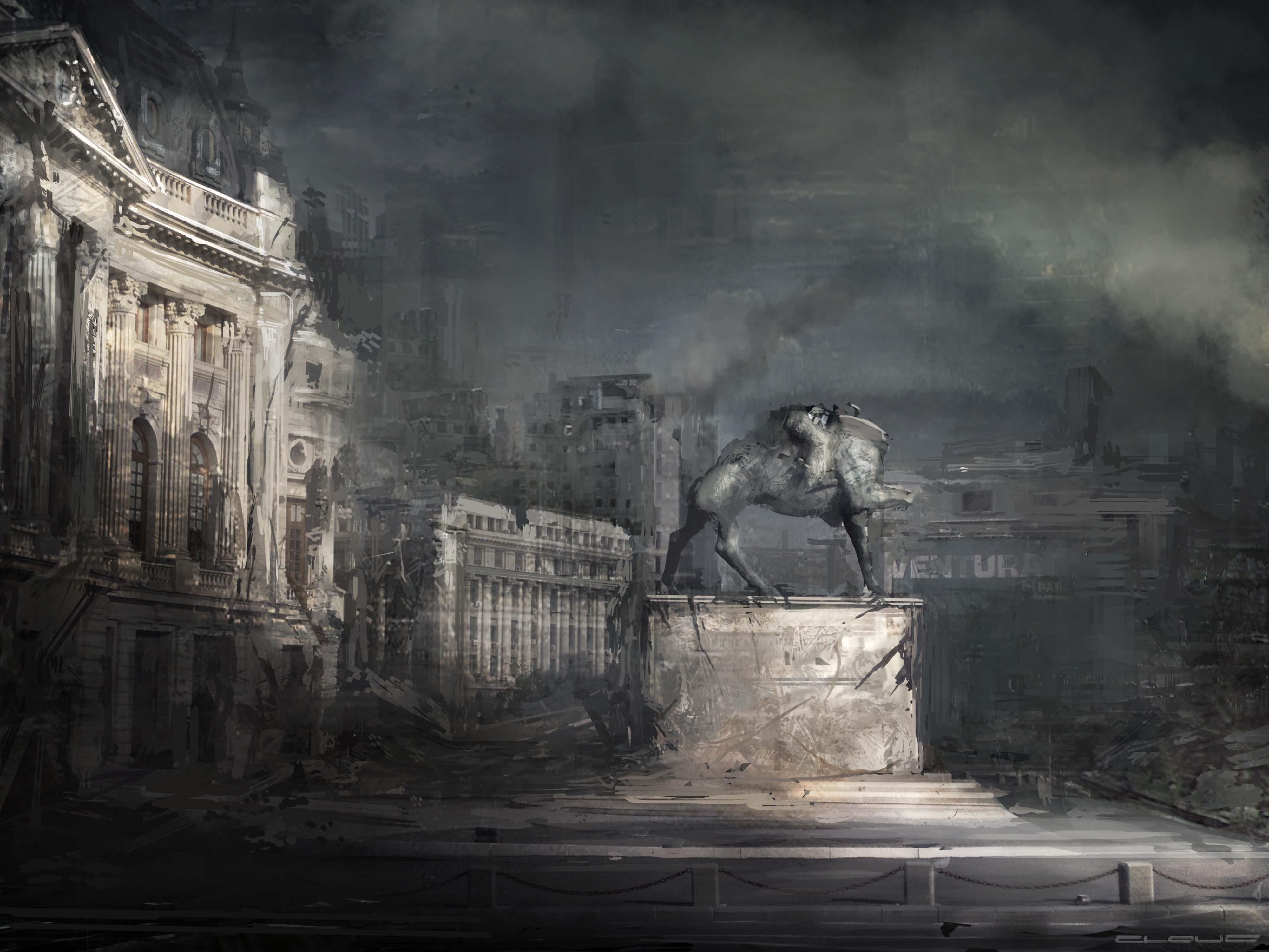 Bucharest CONCEPT 2 post by Darkcloud013