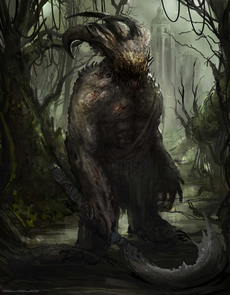 Swamp Beast by Darkcloud013