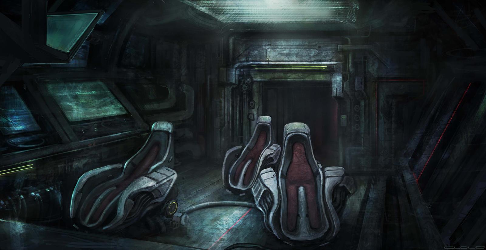 Cockpit concept by Darkcloud013