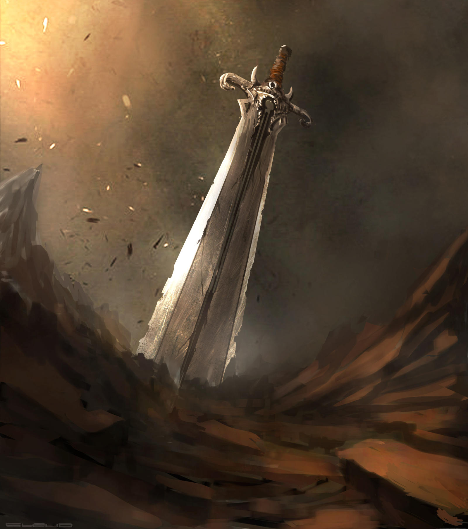 Sword of the Crusader by Darkcloud013