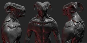Creature Dude 2 by Darkcloud013