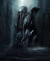Cthulhu statue DVG by Darkcloud013