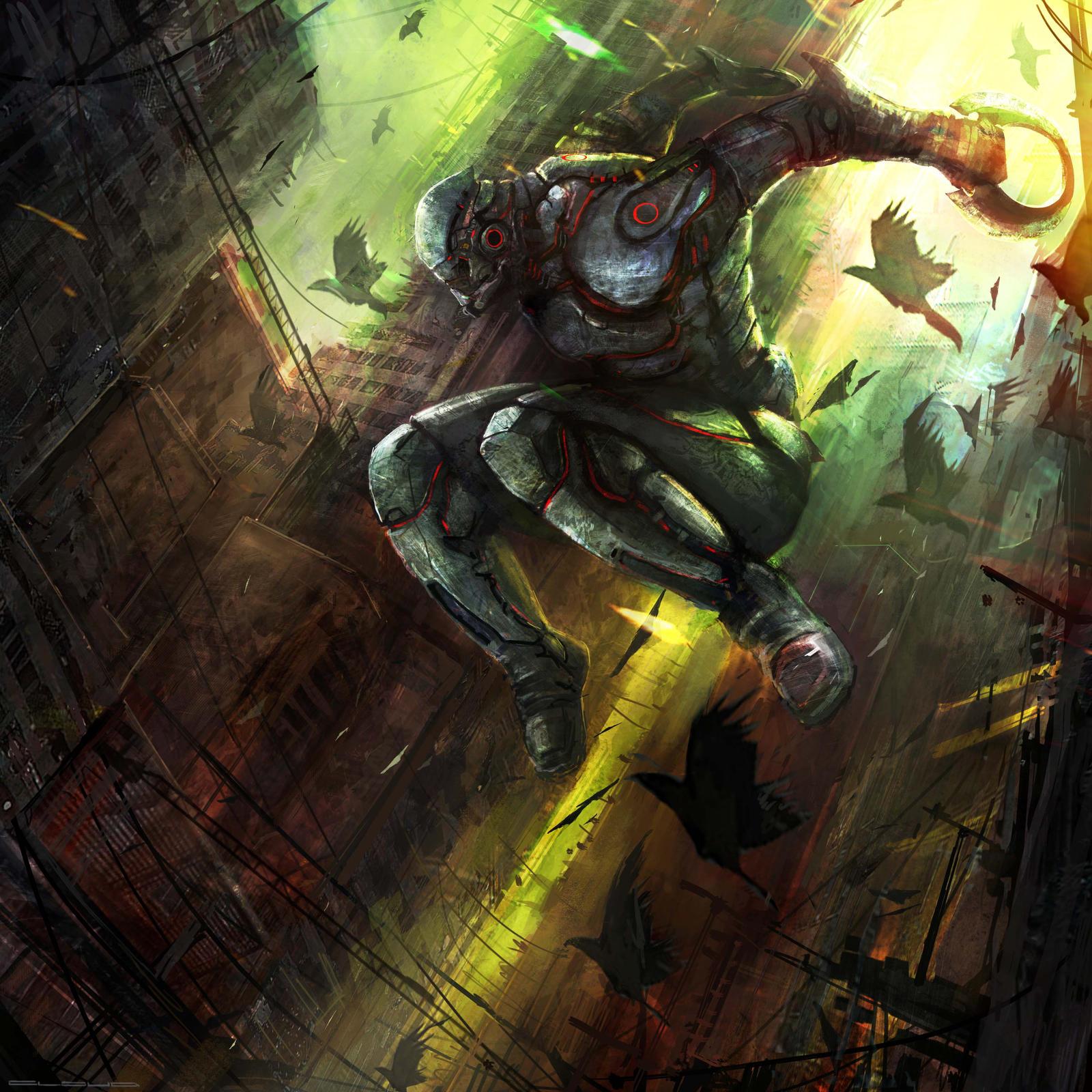 Blade stalker by Darkcloud013