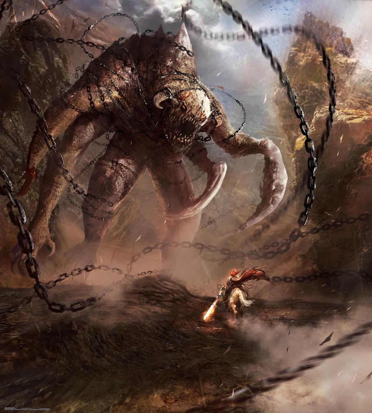 Jair's Encounter by Darkcloud013