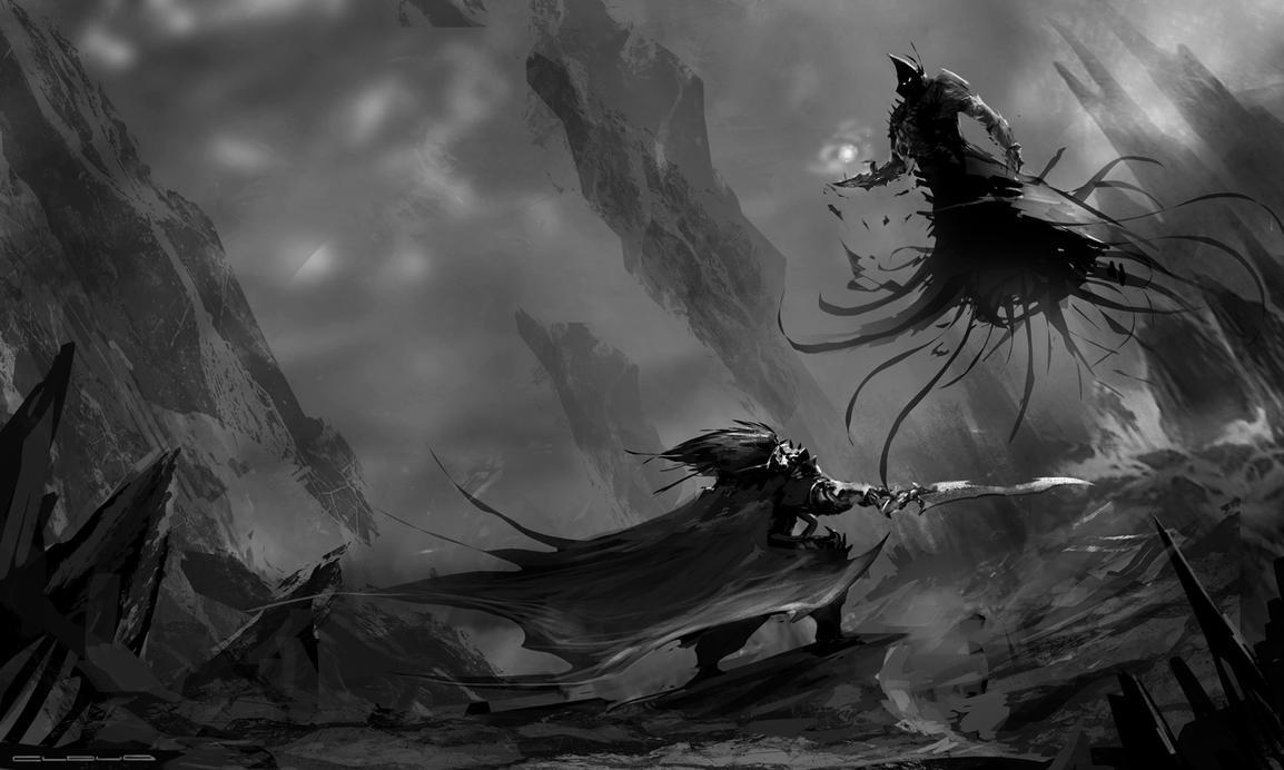 Value Sketch by Darkcloud013