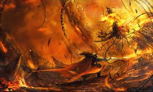 Final Battle by Darkcloud013